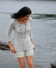 Silk and Saltwater knitting pattern by Mary Annarella (Lyrical Knits) on Ravelry.