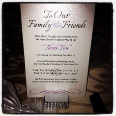 Donation To Charity Instead Of Wedding Gift : about Donation Wedding Favors on Pinterest Wedding Favours, Wedding ...