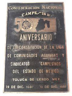50 Aniversario de la Constitución de la Liga de Comunidades Agrarias
