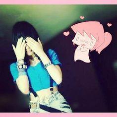 /u\  #emoStyle #alternativegirl #awesome #pretty #weloveemo #piercings  #emoticon #tumblrgirl #love #swag #metal #cool #bands #music #emohair #punkrock #scenekid #scenequeen #timidez #girl #blackVeilBrides #emogirl #Selfie #Smile  #suicidas #followme  #th