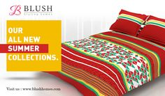 Your reservation for relaxation is at Blush Beddings. Our fine linen collections are sumptuously soft to touch.. Log onto www.blushhomes.com to view & shop!