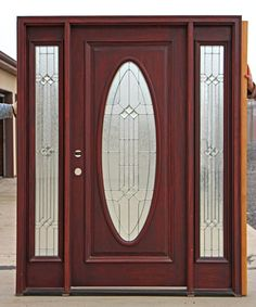 Front Door With Sidelights | Front Doors With Side Lights