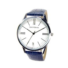Classic style Oxford Roman by TOKYObay. Dapper Casual Mens Watches. Also great boyfriend style for women.