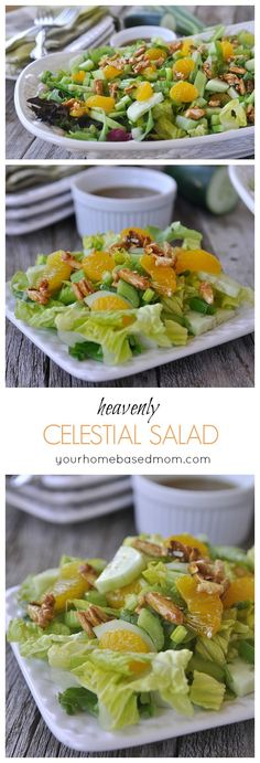 Heavenly Celestial Salad - the perfect springsummer salad