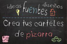 Hacer carteles pizarra | Creative Mindly