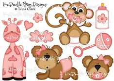 Precious Baby Girl   Original Artwork by Trina Walker (Clark) - Digi Scrap Kits