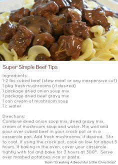 A BEAUTIFUL LITTLE LIFE: Easy Make-Ahead Freezer Meals