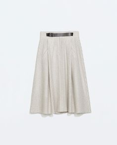 PERFORATED SKIRT from Zara