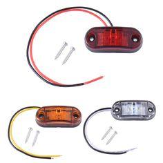 Awesome  st cke Piranha LED Seitenmarkierungs Blinker Licht Bremssignal Lampe F r Auto Lkw anh nger