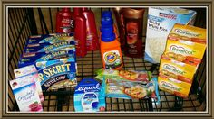 Harris Teeter Super Doubles Trip #7 March 31, 2014  I got bored so I headed out for a midnight run. Most of the transaction went really well except for the Vidal Sassoon is only taking off $2.25 leaving a charge of .24 each for .72 more than I had planned to spend. So 15 items were completely free for a total savings of $63.59 or 95.8%  Total Before Coupons/Discounts $66.35 Total After Coupons/Discounts $1.50 + $1.26 Tax =$2.76  2 CARESS $0.78 3 VIDAL SASSOON $0.72