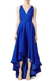 Cobalt Marilyn Gown by allison parris