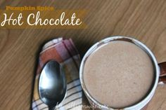 Pumpkin Spice Hot Chocolate Recipe from The Frugal Farm Wife What could be more perfect on a chilly fall morning than pumpkin spice hot chocolate? Pumpkin latte recipes abound on Pinterest right now, but what about the rest of us? The ones who don