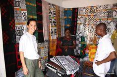 Adinkra shop, Ghana