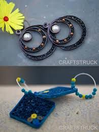 quilling jewellery - Google Search