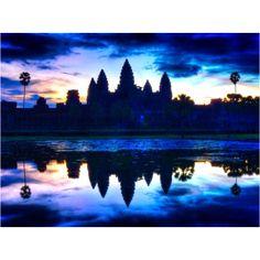 Just before the sun rise #Angkor Watt