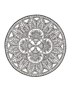 484 best mandala images on Pinterest | Coloring pages, Mandala ...