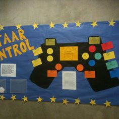 Look at this fantastic STAAR control bulletin board that gives high schoolers testing strategies.