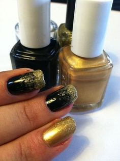 Awesome ombre nail effect