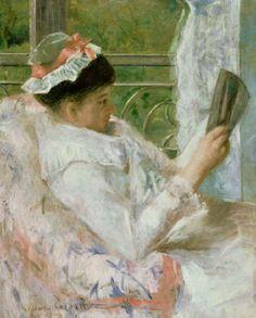 The Reader (Lydia Cassatt)
