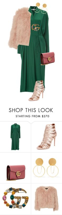 """Untitled #635"" by andradabirleanu ❤ liked on Polyvore featuring STELLA McCARTNEY, Aquazzura, Gucci, Annie Costello Brown and Jocelyn"