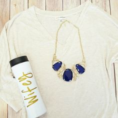 """Basic V- Neck Dolman Tee Oatmeal A boutique favorite, and wardrobe staple! Beautiful, NWOT super- soft, basic v- neck Dolman tee in """"oatmeal,"""" a gorgeous neutral. Boutique Tops Tees - Short Sleeve"""