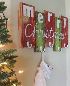 15 ideas to decorate your home with recycled wood - Diy Wood Christmas Decorations