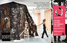 Just one day to go... MAISON & OBJET Paris, 8 - 12 September 2017, Hall 7 Department Scènes d'Intérieur, stand G 151 You're very welcome to meet us!