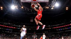 Goran Dragic dunking.