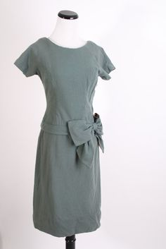 Boxing Day SALE 1930s Dress / 30s Dress / Wool Dress by aiseirigh
