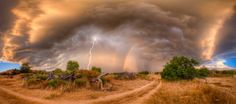14. Or, another seasonal event coming up, all the drama of a summer monsoon storm.