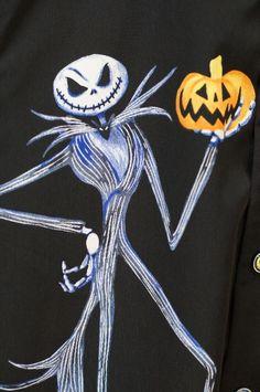 Disney Haunted Mansion Nightmare Before Christmas Jack Men Shirt Small PreOwned  #DisneyWorldExclusive