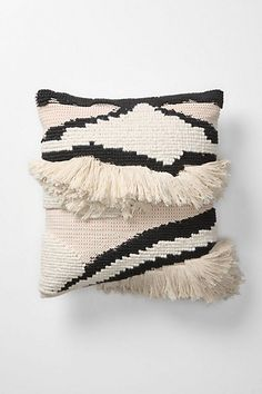 Great pillow! I love the texture and the design of this. Amalia Stripes Pillow - Anthropologie.com