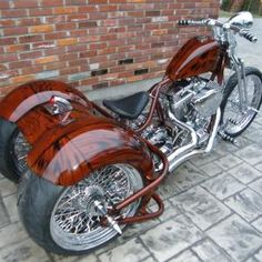 Custom Trikes For Sale, Custom Bobber, Custom Motorcycles, Trike Chopper, Trike Motorcycle, Custom Street Bikes, Motorbikes, Super Cars, Harley Davidson