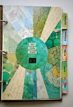 Art Journal Pages, Journal Covers, Art Journals, Notebook Covers, Kunstjournal Inspiration, Art Journal Inspiration, Smash Book, Altered Books, Altered Art
