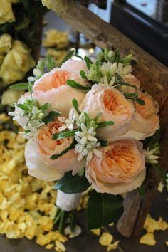juliet rose bouquet made by jasmin