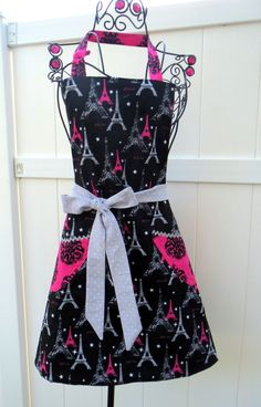 Hey, I found this really awesome Etsy listing at https://www.etsy.com/listing/186238937/womens-apron-reversible-full-i-love