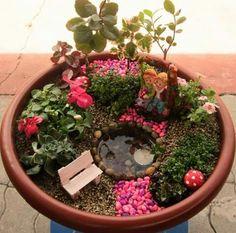 Miniatura jardin