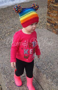 Charmed By Ewe Punkys Funky Hat Crochet Pattern.pdf all sizes downloaded  Crochet Hat Pattern Kids dd87030a2baa