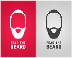 James harden fear the beard logo - photo#17