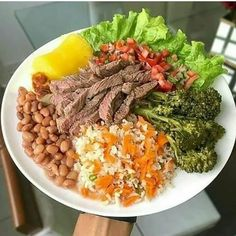 O Projeto fit E para as Pessoas Qu Clean Eating For Beginners, Healthy Eating Recipes, Healthy Food, Food Photo, Lunch, Food And Drink, Meals, Dinner, Academia