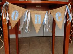Items similar to Burlap high chair banner, photo prop, birthday banner FREE card on Etsy 1st Birthday Photos, Baby Boy Birthday, 2nd Birthday Parties, It's Your Birthday, Birthday Celebration, Birthday Ideas, High Chair Decorations, Birthday Decorations, High Chair Banner