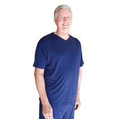 Stay dry with this PJ shirt.  Men's Wicking Pajama T-Shirt | Slumbersome