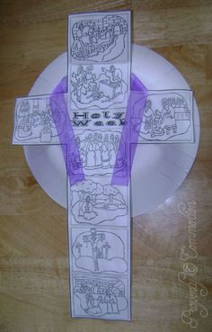 Holy Week Cross Craft | Commotion from the Ocean of Life