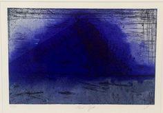 H.M. Dronning Sonja - Kunstforeningen Verdens Ende, Tjøme 07/2013 Edvard Munch, Printmaking, Norway, Artists, Queen, Contemporary, Abstract, Artwork, Blue