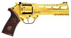 "New Chiappa Gold Rhino 60DS 357 Mag 6"" NIB 340.225 : Revolvers at GunBroker.com"