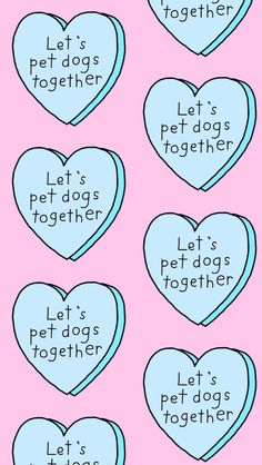 Lets Pet Dogs Together - Tap to see more of the best creatively cute background wallpapers! - @mobile9