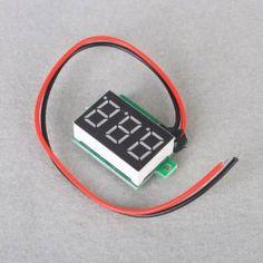 Dc Green Digital Volt Voltage Panel Meter Voltmeter 3.2-30v for Motorcycle, Car, E-bike, ATV, Scooter --- http://www.amazon.com/Digital-Voltage-Voltmeter-3-2-30v-Motorcycle/dp/B00A8VQBOU/?tag=jayb4903-20