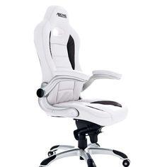 """Židle bílá """"RACING"""""""