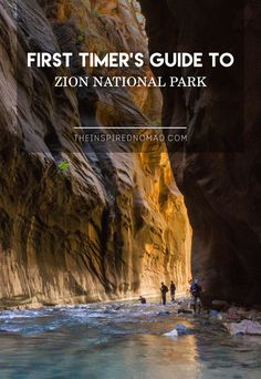 This Travel Guide gives you all the details to plan your adventure in Zion National Park. Weather conditions, lodging, camping, restaurants and hiking. This is a must read for a first-timer going to the park. Death Valley, Oh The Places You'll Go, Places To Travel, Camping Places, Travel Stuff, Südwesten Usa, Rv Usa, Nationalparks Usa, Zion Park