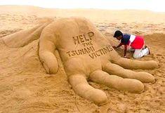 Helping Hand Sandcastles